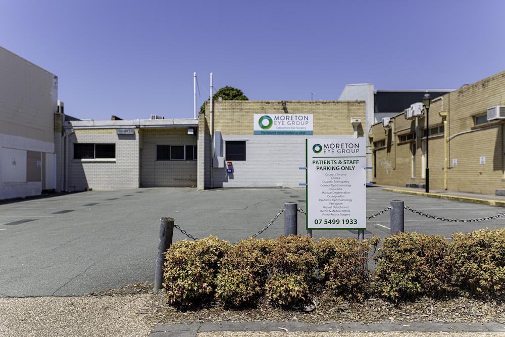 Moreton Eye Group Car Park
