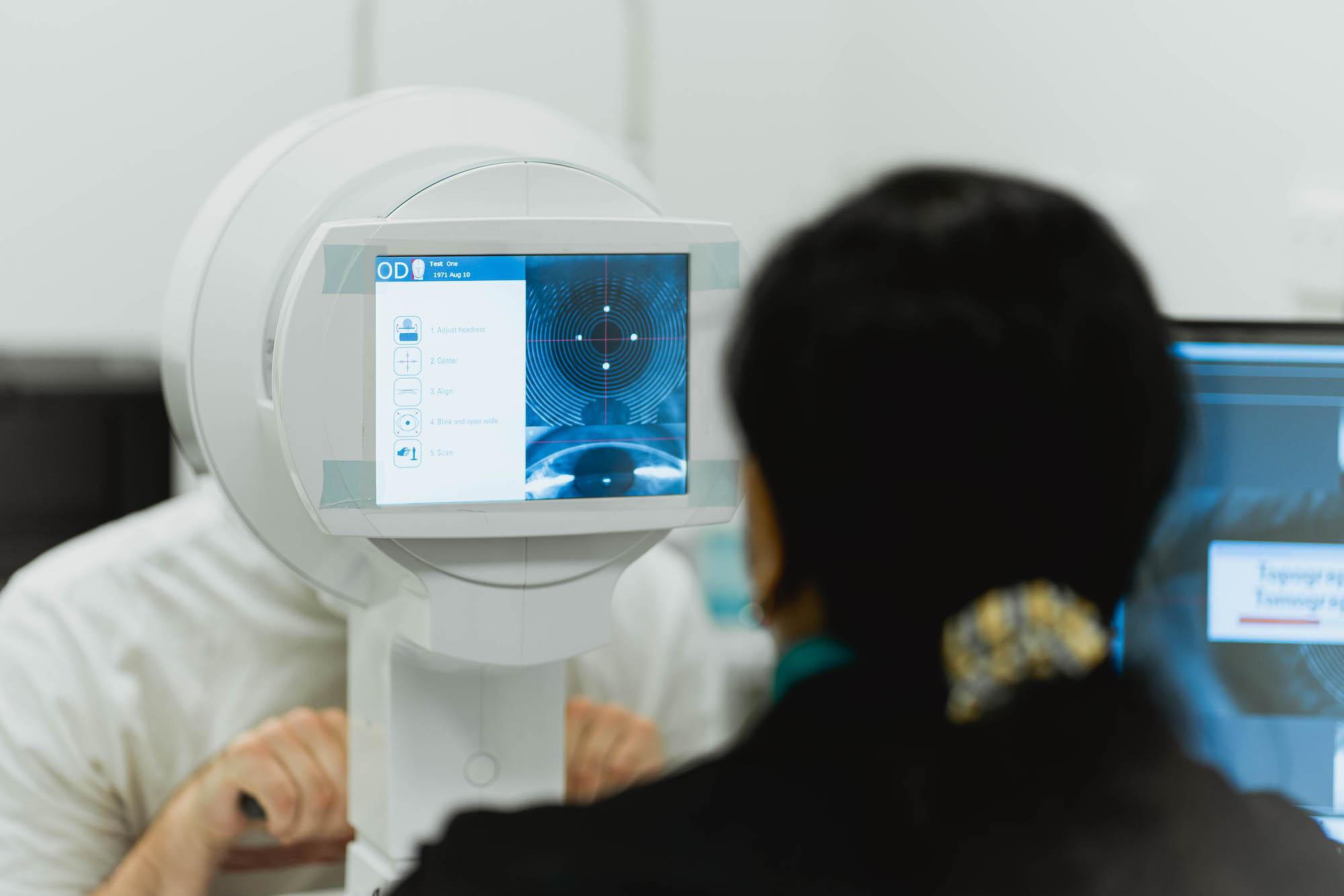 Eye Scanner at Moreton Eye Group